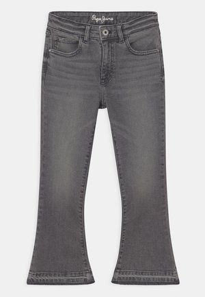 KIMBERLY FLARE - Bootcut jeans - lead black