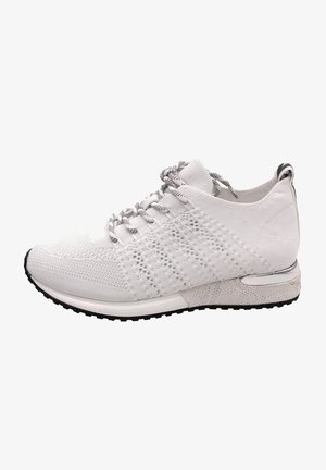 Trainers - knitted white