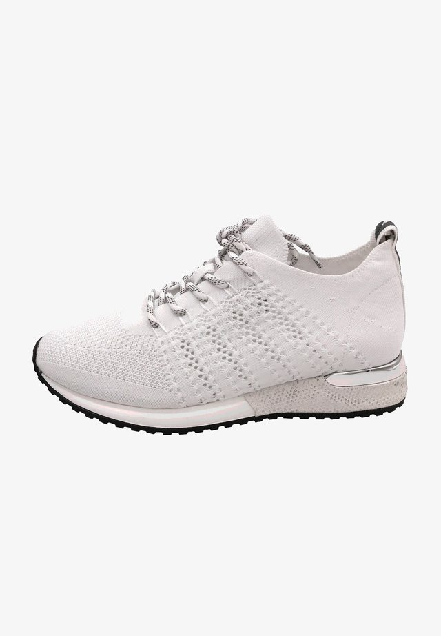 Baskets basses - knitted white