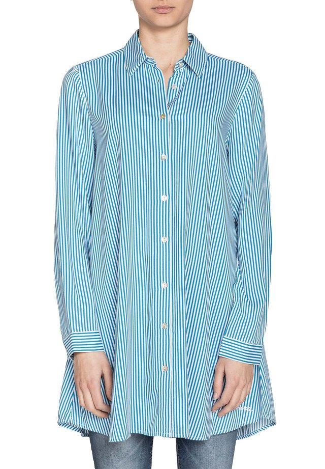 Camicia - bianco/blu