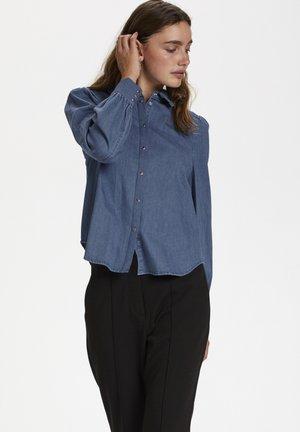SL TINATIN - Skjortebluser - classic blue denim