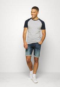 Pier One - T-shirt - bas - dark blue - 1