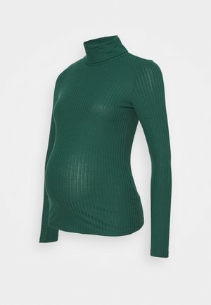 ROLL NECK - Long sleeved top - dark green