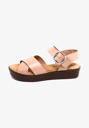 CIRA  - Sandalias con plataforma - rosa