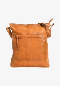 Gusti Leder - Tote bag - cognac - 1