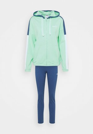 TRACKSUIT HOODIE SET - Trainingspak - green honeydew
