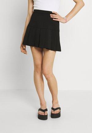 PARIS SHORT SKIRT - Mini skirt - black