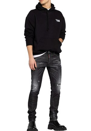Jeans slim fit - dunkelgrau