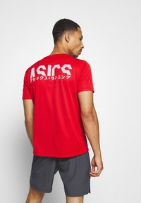 ASICS - KATAKANA  - Print T-shirt - classic red - 2