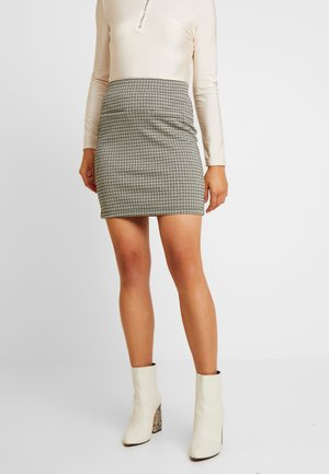 PCHUBERTA SKIRT - Mini skirt - toasted coconut/brown