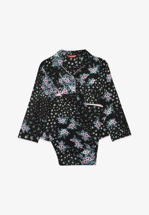 Pyžamová sada - black ditsy