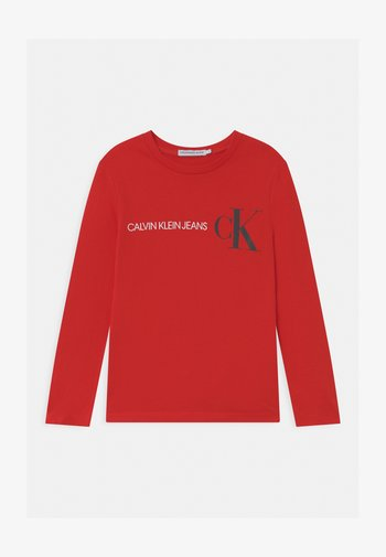 REFLECTIVE LOGO  - Long sleeved top - red