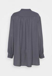 Filippa K - LAYLA BLOUSE - Button-down blouse - metal - 1