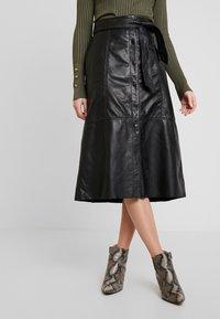 Ibana - FLO - A-line skirt - black - 0