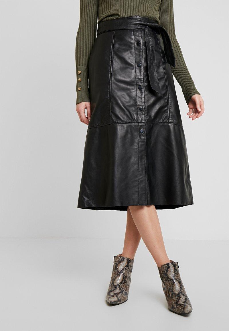 Ibana - FLO - A-line skirt - black