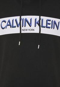 Calvin Klein - STRIPE LOGO HOODIE - Hoodie - black - 2