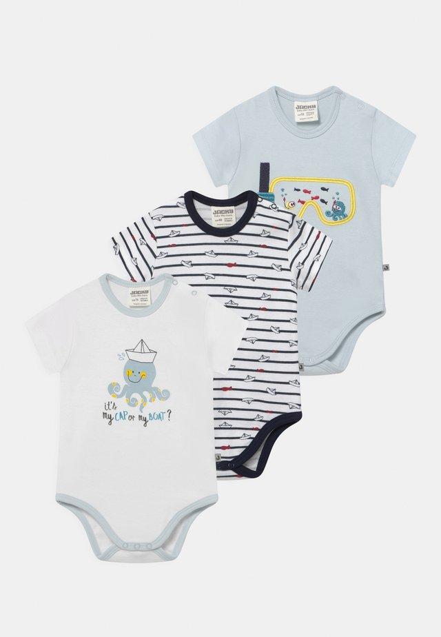 OCEAN CHILD 3 PACK - Body - white/dark blue