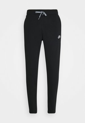 PANT - Tracksuit bottoms - black/black/particle grey/white