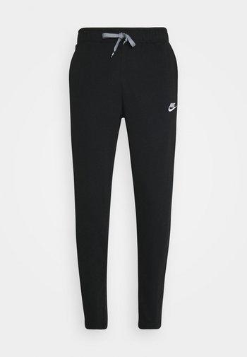 PANT - Tracksuit bottoms - black/black/particle grey/white