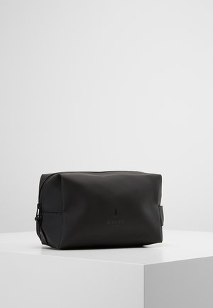 WASH BAG SMALL - Toalettmappe - black