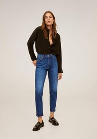 Mango - NEWMOM - Slim fit jeans - dark blue - 1