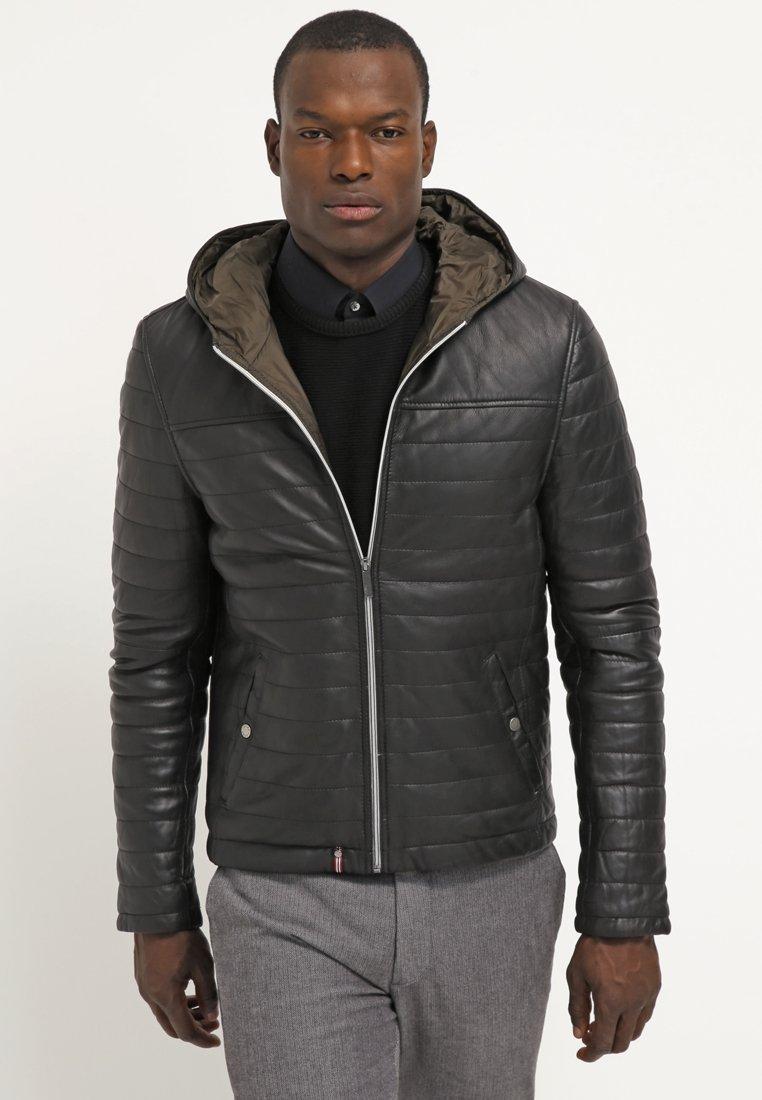 Men AURELLIEN - Leather jacket
