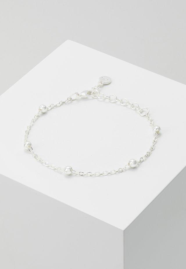 JUNE BRACE SINGLE PLAIN  - Bracelet - silver
