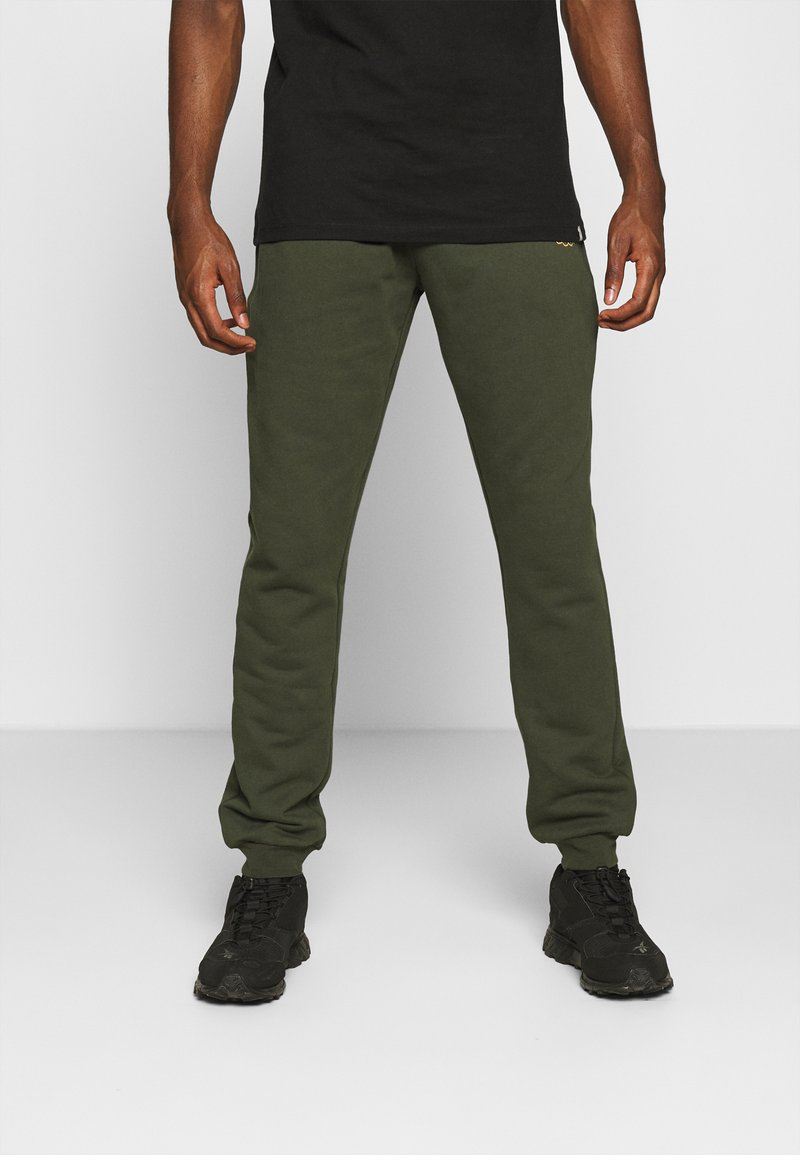 Carlo Colucci - PANT - Tracksuit bottoms - green