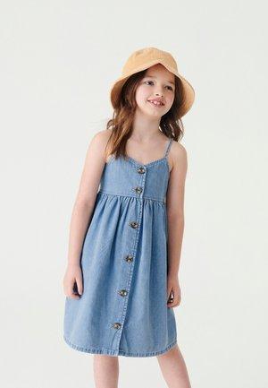 Vestido informal - bleached denim