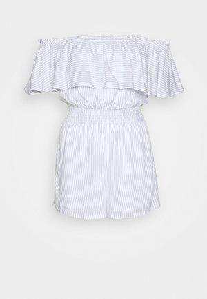 ROMPER - Tuta jumpsuit - blue/white