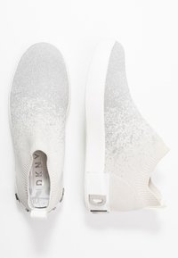 DKNY - SAYDA SOCK  - Slip-ons - silver/white - 3