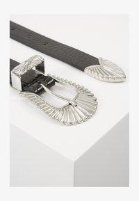 Gina Tricot - SIMONE BELT - Belte - black/silver - 2