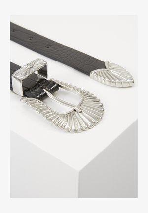 SIMONE BELT - Belt - black/silver