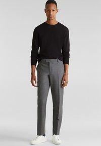 Esprit Collection - ACTIVE SUIT - Pantalon - dark grey - 0