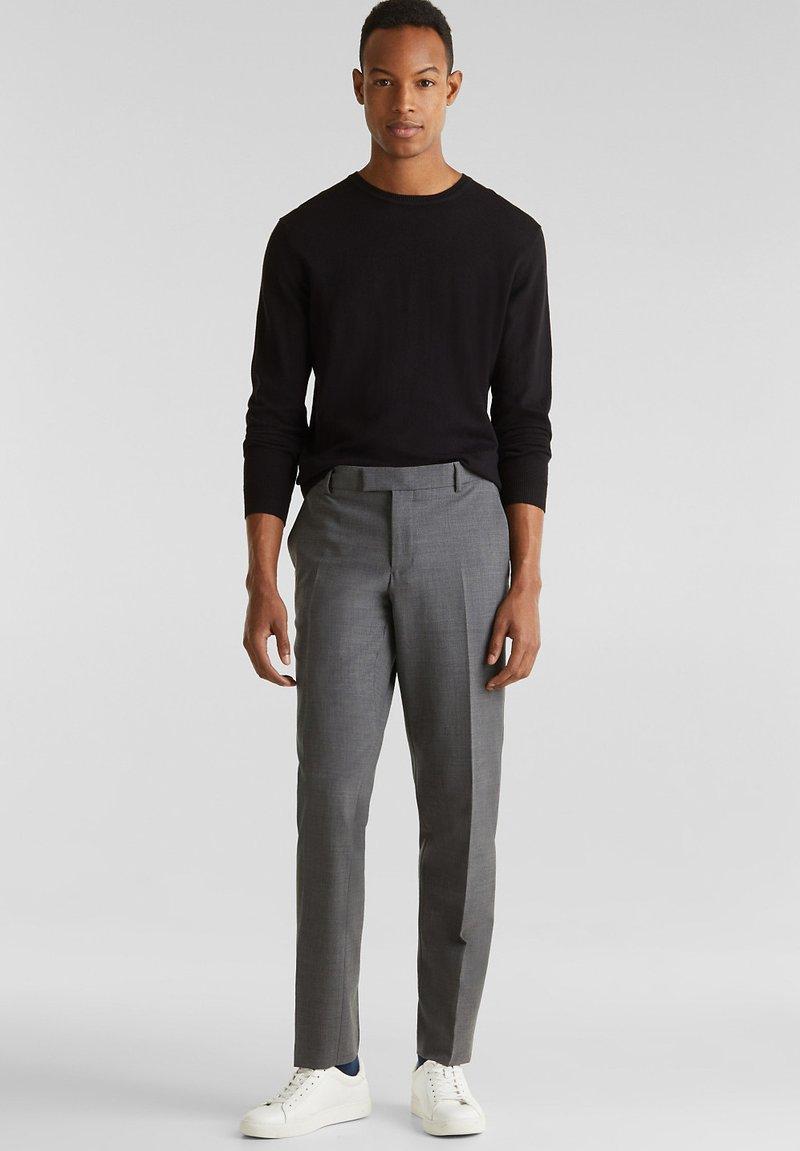 Esprit Collection - ACTIVE SUIT - Pantalon - dark grey