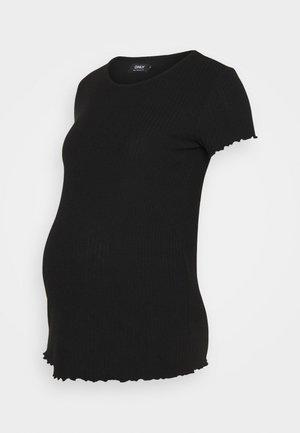 OLMEMMA - Basic T-shirt - black
