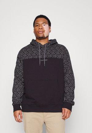HOODIE - Sweatshirt - black/dark grey