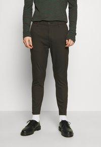 Gabba - PISA Small Dot - Spodnie materiałowe - army - 0