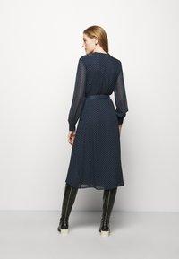 MICHAEL Michael Kors - PERFECTION BELTED - Day dress - dark blue - 2