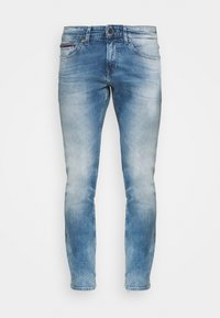 Tommy Jeans - SCANTON SLIM - Slim fit -farkut - wilson light blue - 4