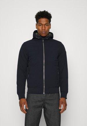 HOODED STRETCH JACKET - Light jacket - night