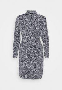 VMSAGA COLLAR SHIRT DRESS  - Shirt dress - navy blazer/donna