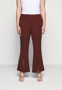 CAPSULE by Simply Be - TROUSERS - Trousers - rust - 0