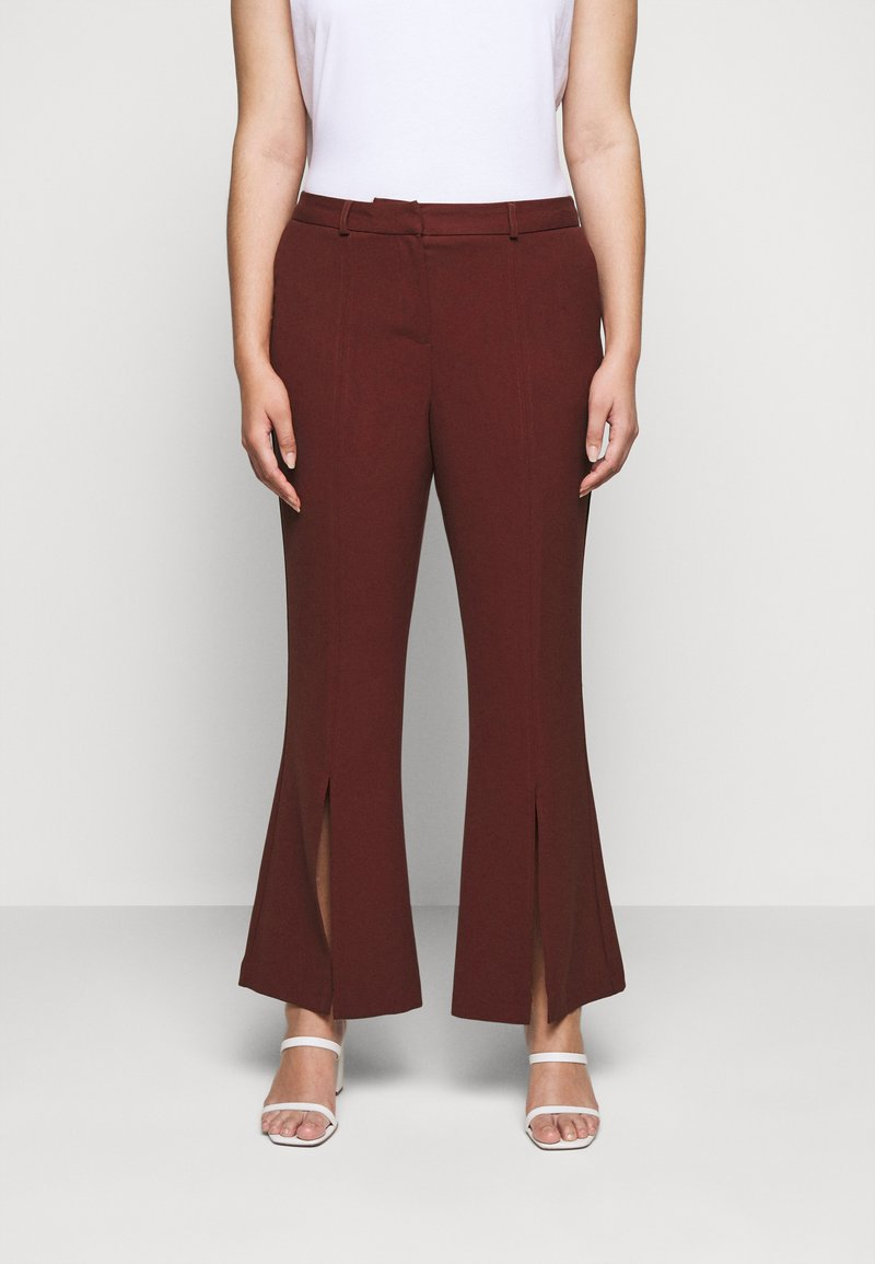 CAPSULE by Simply Be - TROUSERS - Trousers - rust