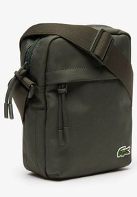 Lacoste - VERTICAL CAMERA BAG UNISEX - Camera bag - forest night - 3