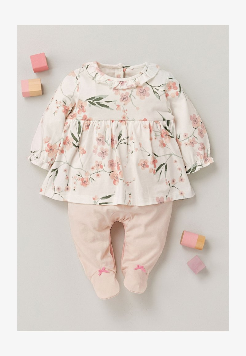 Next - Sleep suit - pink