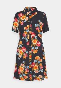 PCNINA DRESS - Shirt dress - black