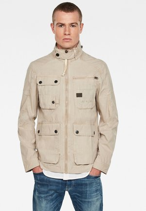 UTILITY WASHED FIELD - Summer jacket - khaki gd