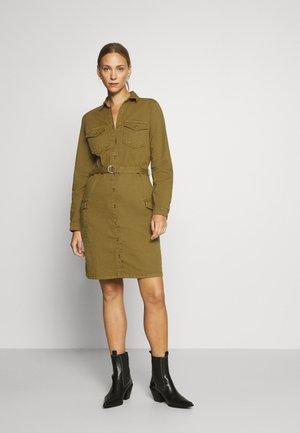 EARTH  - Shirt dress - olive