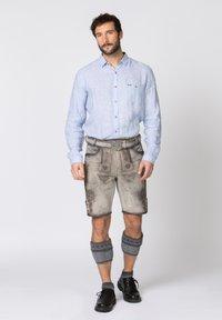 Stockerpoint - Leather trousers - rauch geäscht - 1